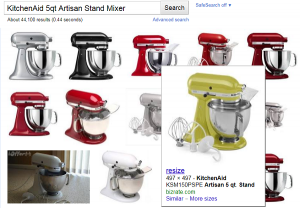KitchenAid Stand Mixer images from google
